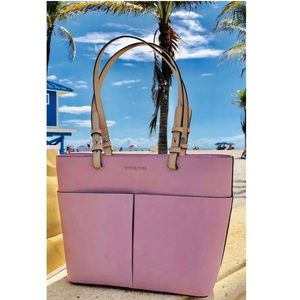 $198 Michael Kors Bedford Handbag Purse MK Bag